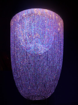 An example of a Swarovski Crystal Chandelier.