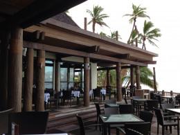 Breakfast outside at the Takali Terrace Restaurant.
