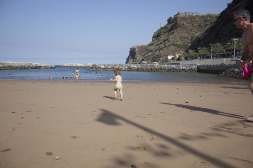 Calheta Beach: a popular holiday hot spot on the Island
