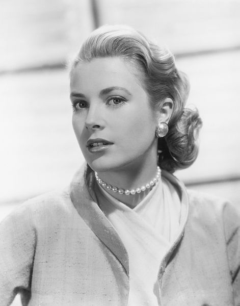 Grace Kelly from Rear Window (public domain)