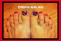 Cheetah Nail Art Tutorial