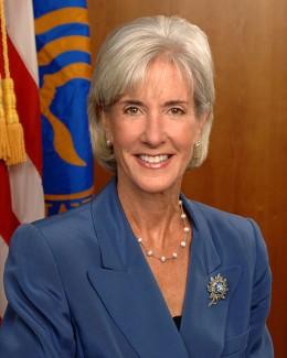 Kathleen Sebellius, Secretary of Health and Human Services during U.S. Obama Administration.