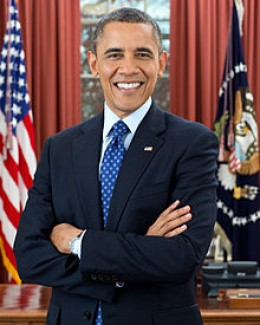 President Barack Obama, 44th president of the United States. The Affordable Health Care Act also known as Obamacare is his signature piece of legislation.