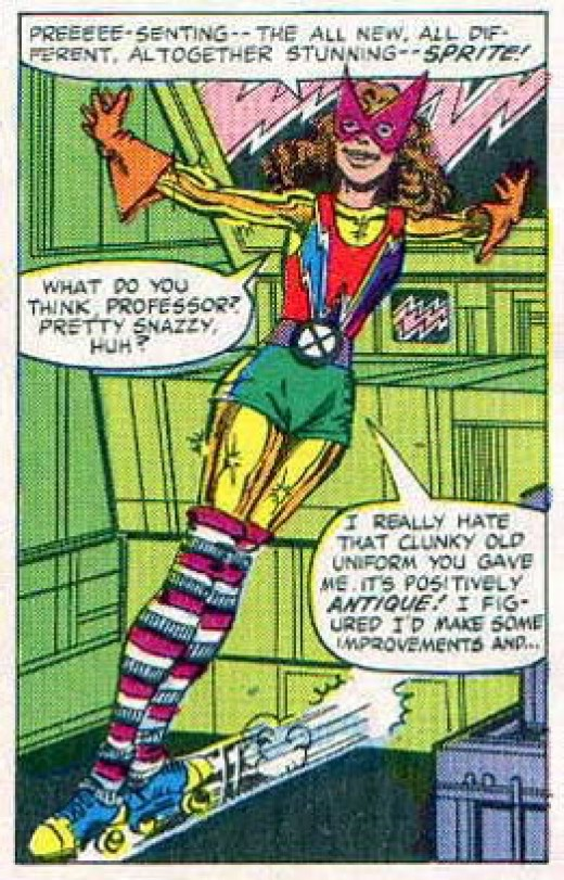 Dazzler inspired Kitty Pryde / Sprite Costume