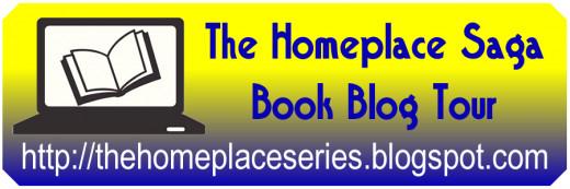 """The Homeplace Saga"" Book Blog Tour Logo"
