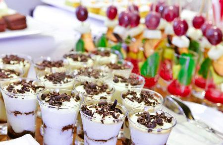 Buffet desserts.