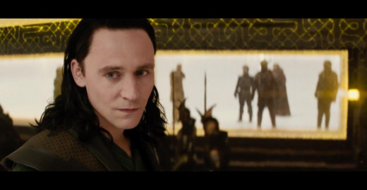 Tom Hiddleston delivers another scene-stealing performance as Loki.
