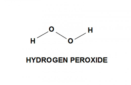 Hydrogen Peroxide broken down as a chemical component
