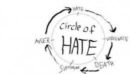 Hatred only begets more hatred