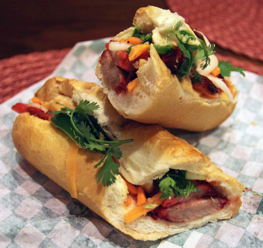 Pork Banh Mi is a fabulous snack or lunch you can make yourself using the recipe