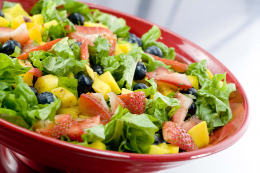 Keep your salad fresh by spritzing it with peroxide
