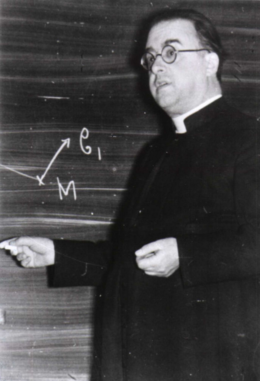 Georges Lemaître, Catholic priest