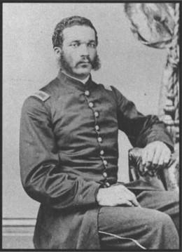 2nd Lt William H. Dupree of the 55th Massachusetts infantry regiment