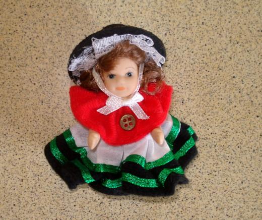 Tiny Welsh Souvenir