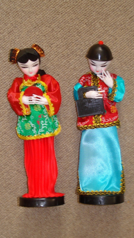 Taiwanese Funeral Dolls