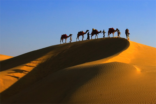 Feel the magic & adventure of the silk route that was the great trading center between 8th & 12th century