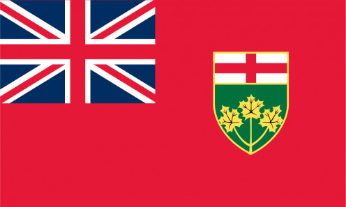 Privincial flag of Ontario