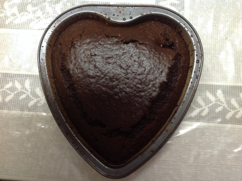 Easy Chocolate Cake With Margerine But Without Eggs