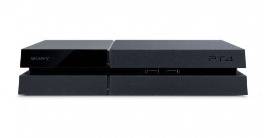 PS4 Console (front view)