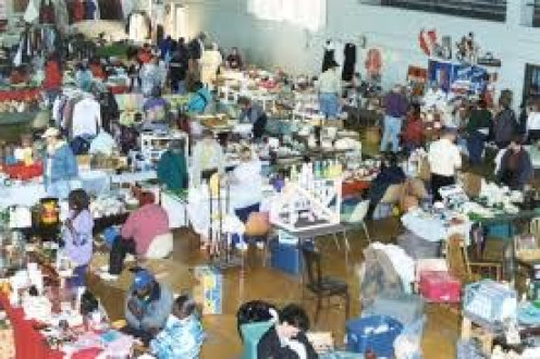 Flea markets is a perfect place to trade or purchase items for a great price.