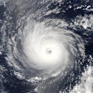 A view of Hurricane Daniel in 2006.