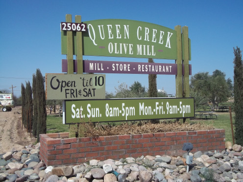 The Olive Mill In Queen Creek Arizona.