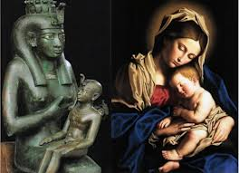 Isis and Horus, Mary and Jesus