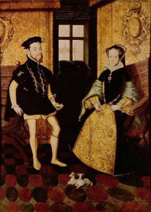 Mary I married Philip II of Spain.