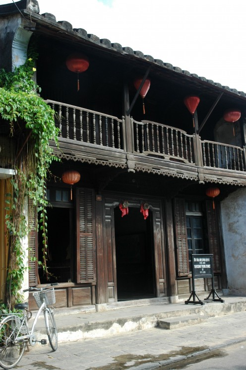 An old wooden house, Hoi An © A Harrison