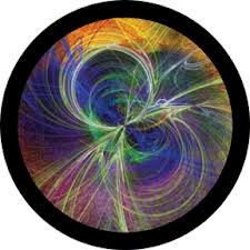 This is an intricate colored glass gobo. I posted this one to show you the possibilities of colored glass.