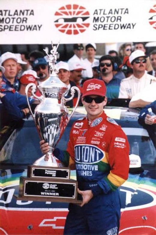 Gordon took home 40 of these over a four year stretch in the 90's