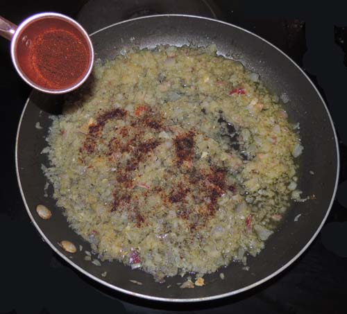 add chili powder and mix well; simmer 2-3 minutes