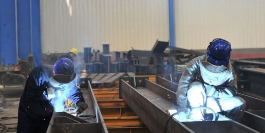 Welders do not earn much is Australia