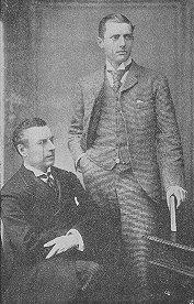 Joseph and Austen Chamberlain