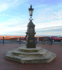 Drinking Fountain at Seahorses Square, Eastbourne, East Sussex, England