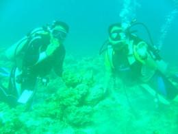 my diving buddy