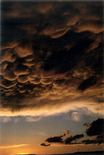 the ominous clouds from Amalia Seiber flickr.com