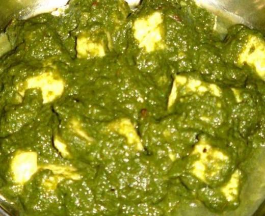 Yummy Palak Paneer