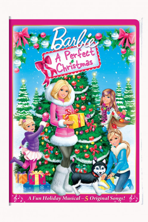 Barbie: A Perfect Christmas DVD Movie Cover