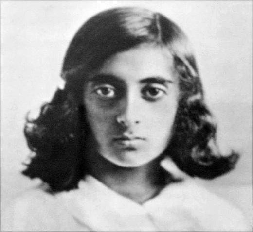 Childhood Indira Gandhi