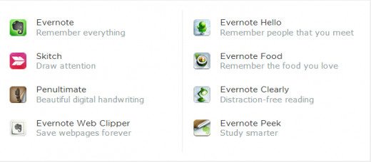 The Evernote Family