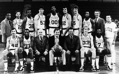 The 1981 NBA Champions - The Boston Celtics