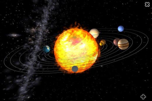 sun as center of solar system - photo #2