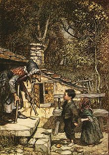 The story of Hansel and Gretel.