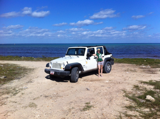 Don't be afraid to explore on your own! Cozumel is very safe. Renting a car for the day gives you the chance to explore this beautiful island fully.