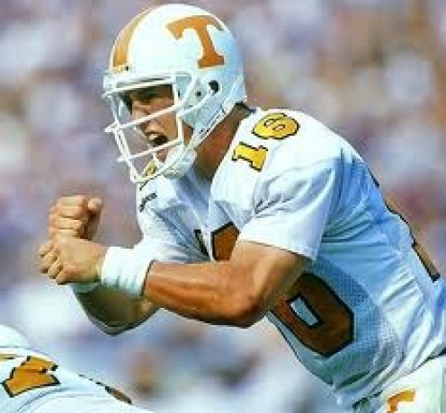 Peyton Manning had a distinguished college career playing football for the Tennessee Vols. He parlayed that success into a remarkable professional football career.