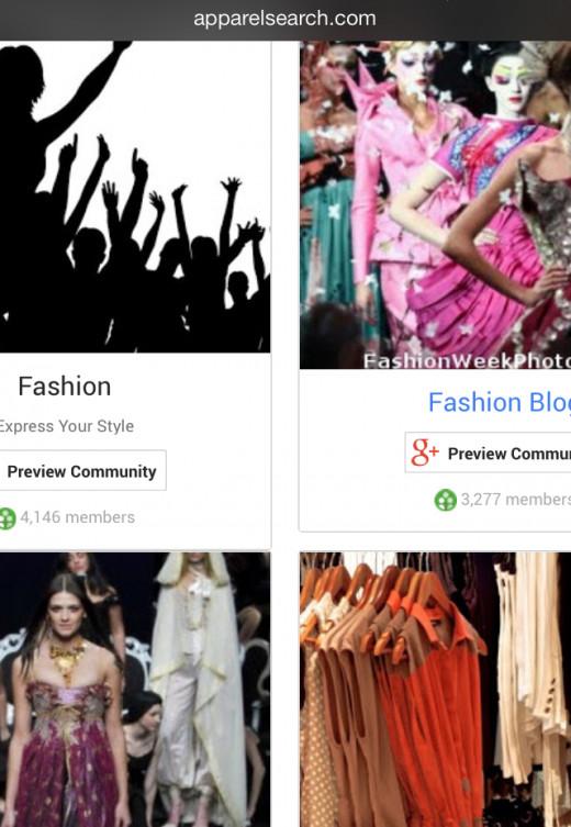 Google+ Community Examples