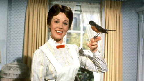Who has not been charmed by Julie Andrews as Mary Poppins in the Disney film version of P.L. Traver's original novel?