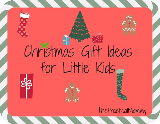 List of Christmas gift ideas for little kids and money saving tips!