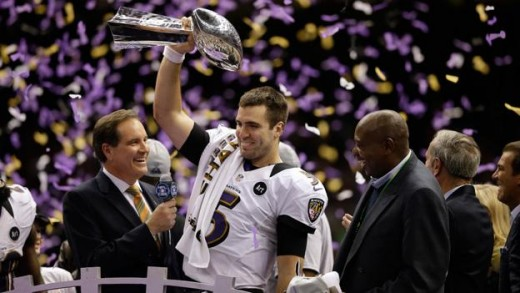 In 2013, Joe Flacco led the Ravens to an improbable Super Bowl Championship
